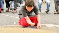 On a roll with the British and World Marbles Championship