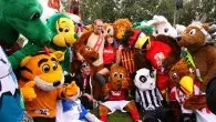 Escape the rat race and join the bee, lion and squirrel race with the Mascot Grand National