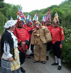 The Hunting of the Earl of Rone: Combe Martin's unique annual custom