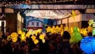 Greenwich lantern parade and Christmas lights