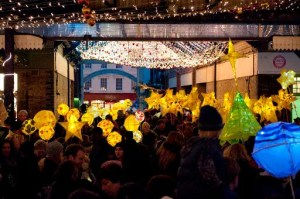 Greenwich lantern parade and Christmas lights