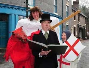 Blists Hill Victorian Town - St George's Day event