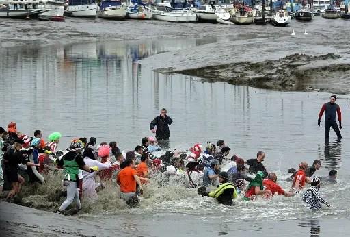 Essex events - Maldon Mud Race