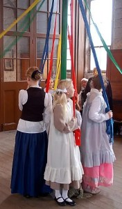 Black Country Living Museum - Maypole Dancing
