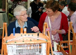 Woolfest - Cockermouth - Susan Headweaving