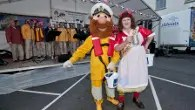 What shall we do with the drunken sailor?  Take him to Falmouth Sea Shanty Festival!