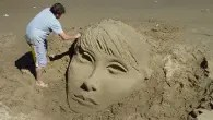 UK National Sandcastle Competition 2014