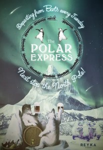 The Polar Express - Barts speakeasy - Maggie's nightclub