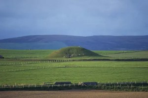 Maeshowe Chambered Cairn - © Crown Copyright Historic Scotland