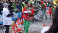 Put on a brave festive face and try the Great Christmas Pudding Race