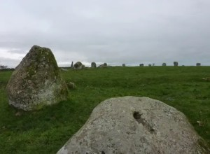 Curiosity of the Week - Long Meg Stone Circle - Little Salkeld