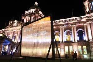 Luminous Curious Journey at Belfast City Hall