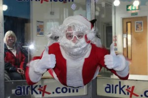 See Santa Fly - Airkix Indoor Skydiving - Milton Keynes