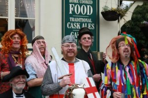 Sussex Mummers' Play 2014 - Ashdown Mummer's