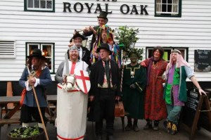 Sussex Mummers' Play 2014 - Ashdown Mummers