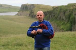Chris Ormston - smallpipes - Morpeth Northumbrian Gathering