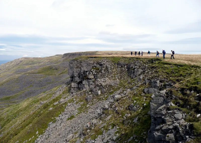 Hangingstone Scar - ride2stride - Settle-Carlisle Walking Festival