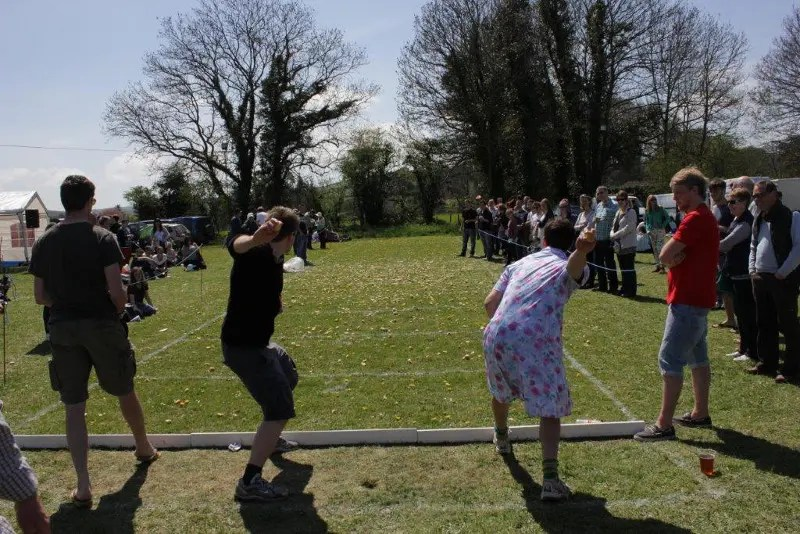 Dorset Knob Throwing 2014 (Photo: Rupert Cake)