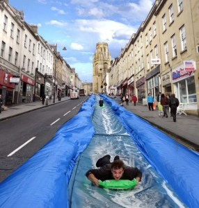 Park and Slide - Luke Jerram - Bristol