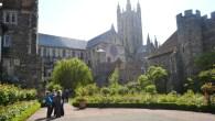 Canterbury Cathedral - secret gardens 2014