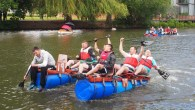40th anniversary of the Lions Charity Raft Race in Warwickshire