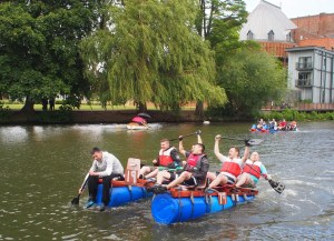 Lions Charity Raft Race - Stratford upon Avon