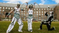 Bristol Harbour Festival 2014 - Cirque Bijou Aliens