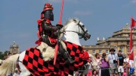 Jousting and dragons at Blenheim Palace