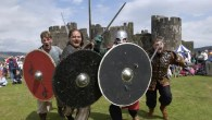 Cheese races and cultural history at Caerphilly's free festival