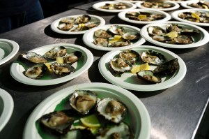 Oysters - Falmouth Oyster Festival 2014