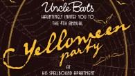 Celebrate Yelloween at Barts, the not so secret speakeasy bar
