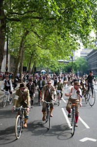 Tweed Run 2015 - London
