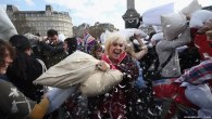 London International Pillow Fight Day 2015