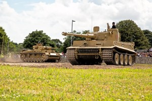 Tankfest - Tiger 131 and Panzer III
