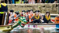 Boating, food and music at Leeds Waterfront Festival
