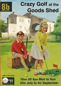 Crazy Golf - Brunel Goods Shed - Stroud