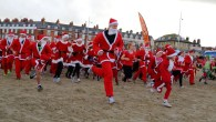 Dress up as Santa and Chase the Pudding in Weymouth