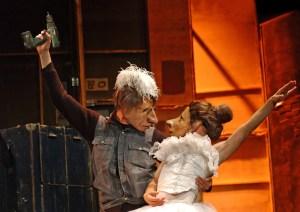Familie Flöz - Teatro Delusio Photo: Pierre Borasci
