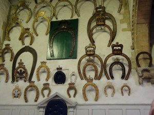 Oakham Castle Horseshoes by Onewhohelps