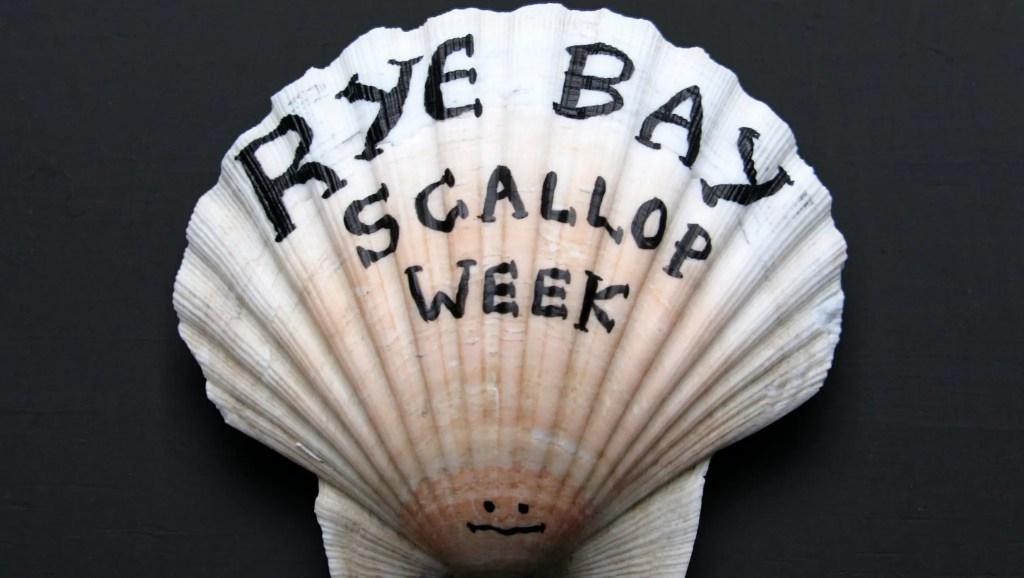 Rye Bay Scallop Week 2017 (Artwork: Matt Hardman)