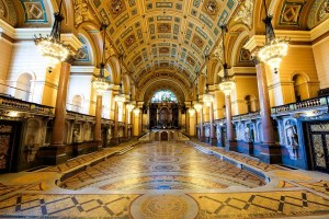 St Georges Hall Liverpool - Minton Floor
