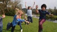 A wild summer camp for children in Surrey