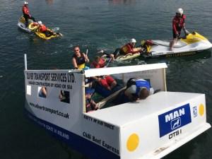 Portrush Raft Race 2017 - Northern Ireland - Photo: Julie Gardner