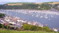 Waiters' races and a trolley grand prix at Dartmouth Regatta