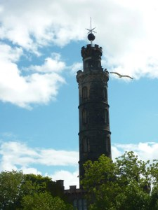 Curiosity of the Week - Nelson Monument Time Ball Edinburgh - Contrary Life