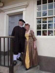 Samuel Johnson's Birthplace Museum - Lichfield - Dr Johnson & Mrs Thrale
