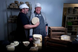 Wildes Cheese Philip and Keith in dairy