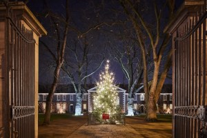 Exterior of the Geffrye Museum at Christmas - Hannah Taylor