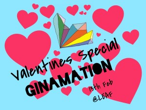 Ginamation - Valentine's Day events 2018 - Manchester