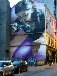 Contrary Life - Glasgow city guide - City Centre Mural Trail